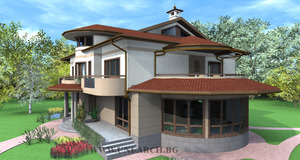 Architectural project house