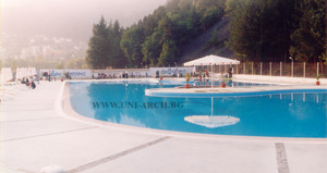 Reconstruction of a swimming pool in Svoge